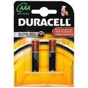 Элемент питания Duracell LR03 -2bl basic (мизинчиковая)