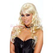 Парик с кудрявыми длинными волосами блонд luscious blonde<p></p>
