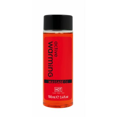 Разогревающее массажное масло WARMING ACTIVE 100 мл