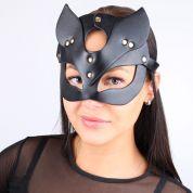 Сексуальная маска Кошки черного цвета