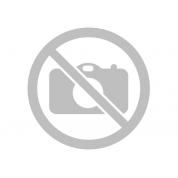 Комплект: лиф и слипы из сеточки с ремешками из искусственной кожи M (46)